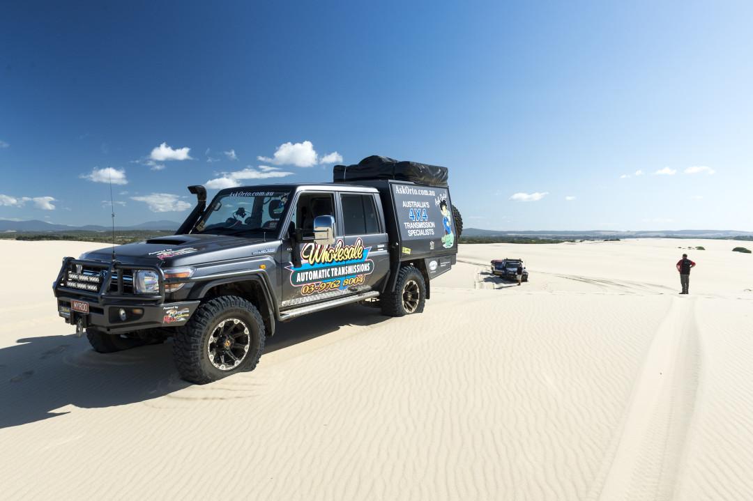 Tasmania Sand Dunes