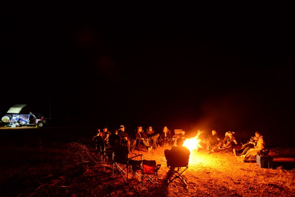 Nothing Beats a Good Campfire with Mates