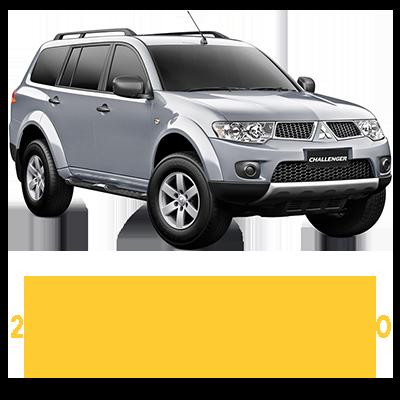 Mitsubishi Challenger PB 5 Speed