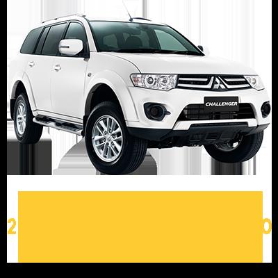 Mitsubishi Challenger PC 5 Speed