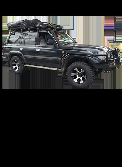 Toyota LandCruiser 80 Series Diesel 5 Speed Automatic