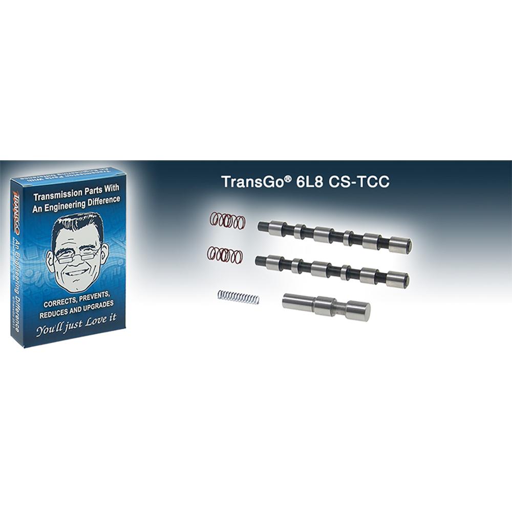 TransGo 6L8 CS-TCC Repair Kit to suit GM 6 Speed Commodore VE, VF 6L45E,  6L80E, 6L90E Transmission - Clutch Select Valve and TCC Valve - 2007 to 2014