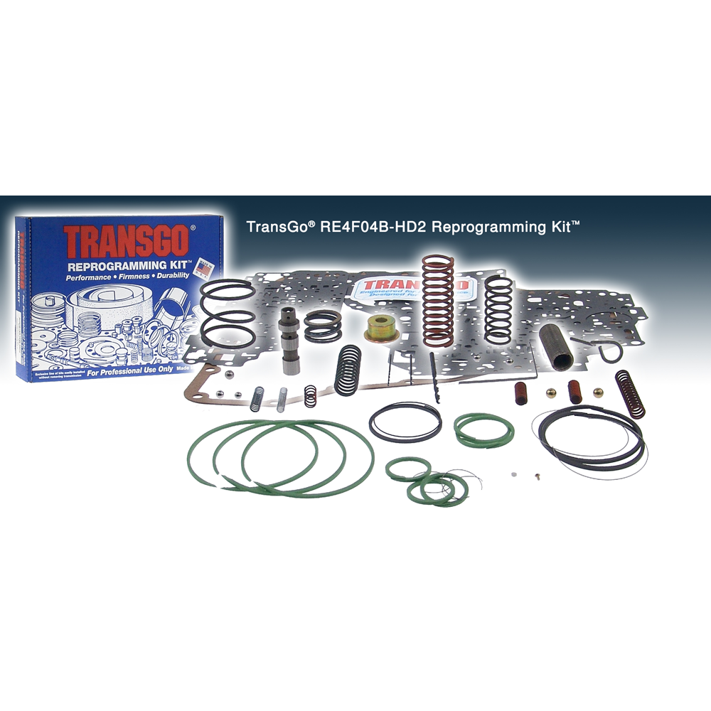 TransGo RE4F04B HD2 Reprogramming Kit to suit Nissan RE4-F04B