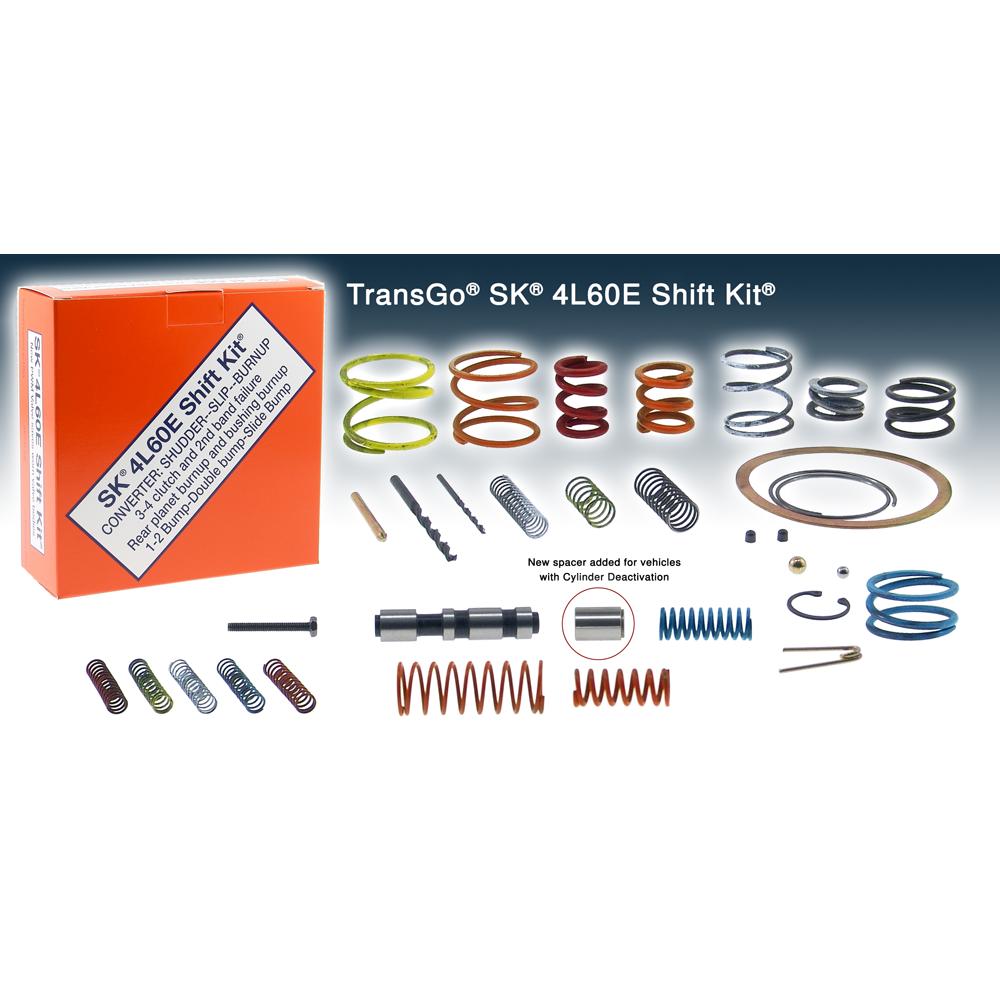 TransGo SK 4L60E Shift Kit to suit Commodore VR, VS, VT, VE 4L60E and 4L65E  Transmission - 1993-On - Stage 1