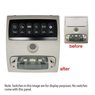 6 Switch Panel Ranger and BT50