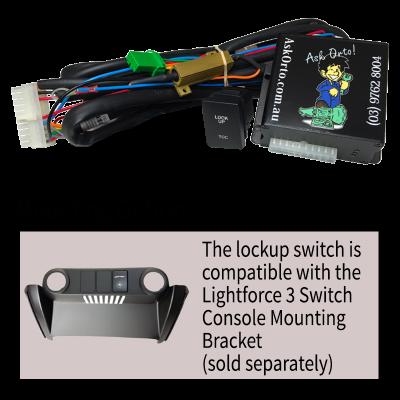 GENII Torque Converter Lockup Kit - Lightforce Switch Panel with OEM Style Switch