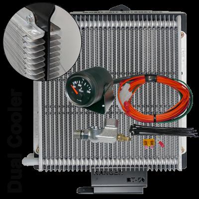 Mazda BT50 Analogue Temp Gauge And Dual Cooler Kit