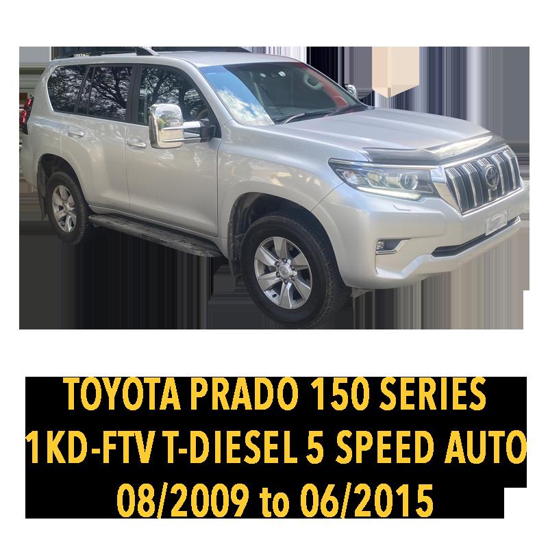 Toyota Prado 150 Series 1KD Turbo Diesel 5 Speed Auto