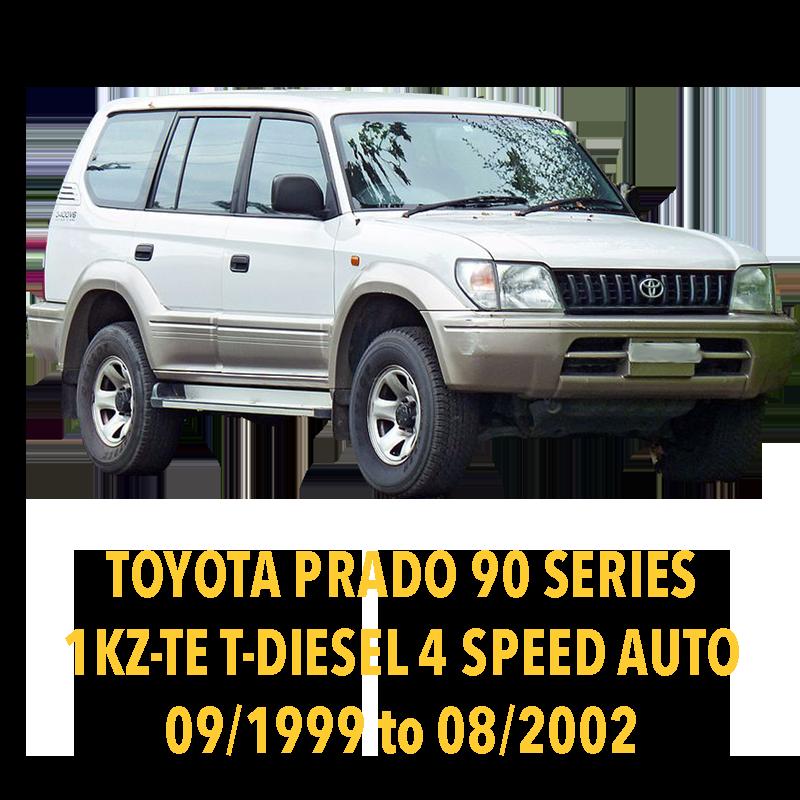Toyota Prado 90 Series Turbo Diesel 4 Speed Auto