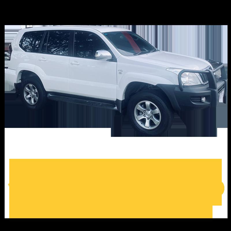 Toyota Prado 120 Series V6 Petrol 4 Speed Auto