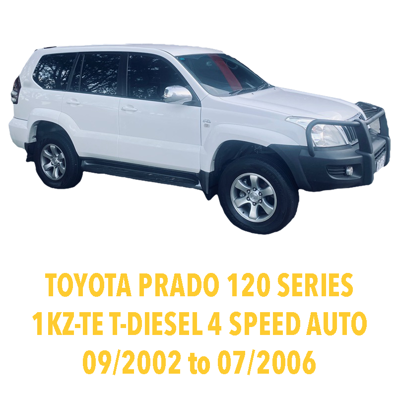 Toyota Prado 120 Series 1KZ 4 Speed Auto