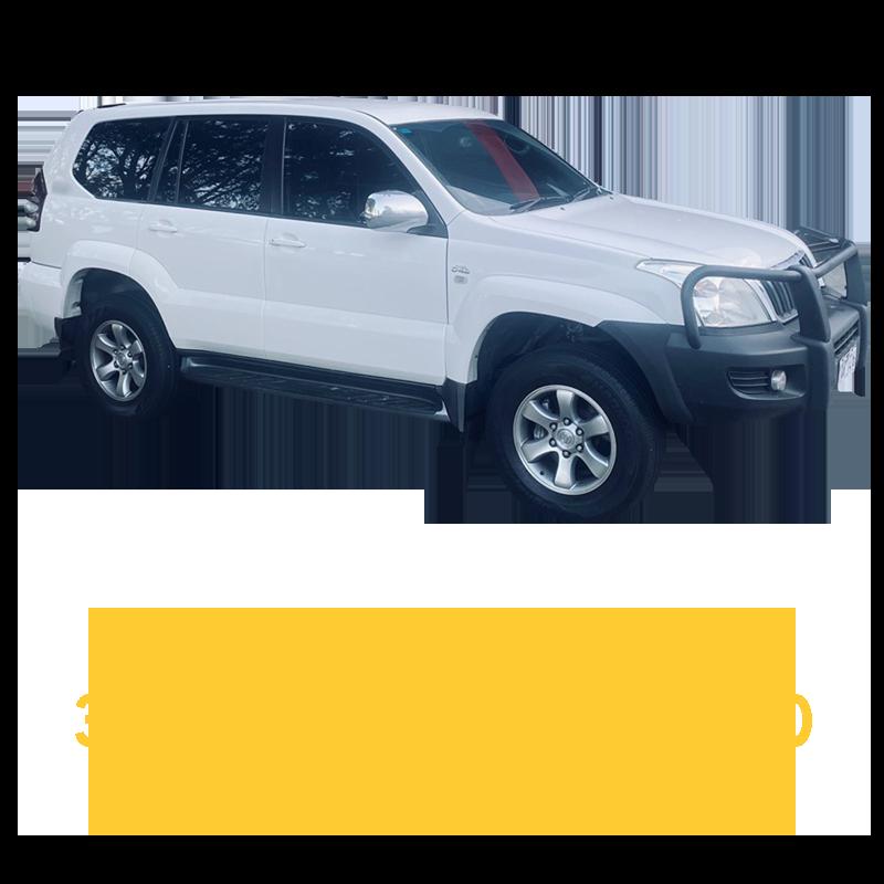 Toyota Prado 120 Series 3RZ Petrol 4 Speed Auto