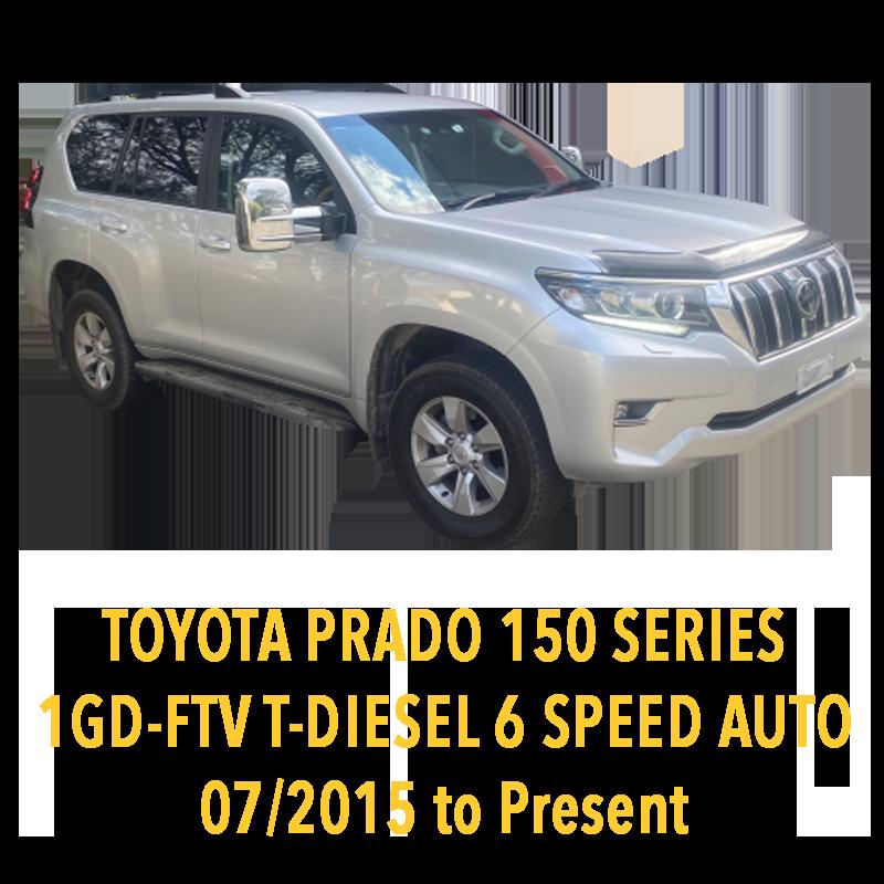 Toyota Prado 150 Series 1GD Turbo Diesel 6 Speed Auto