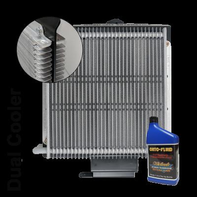 Ford Everest Dual Cooler Kit 6sp and 10sp and 1L Transmission Fluid