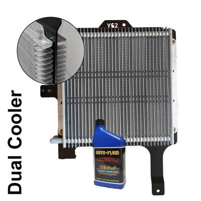 Nissan Y62 Dual Cooler with Inset and 1L Transmission Fluid