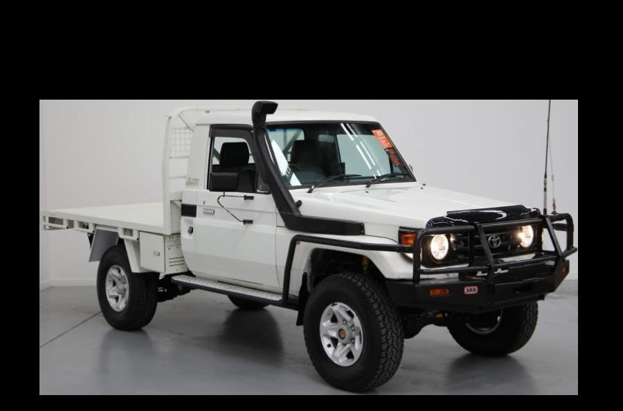 HDJ79 Vehicle Cutout